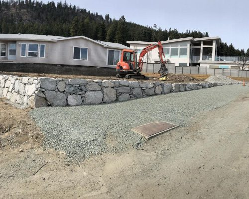 Rock Walls & Retaining Walls